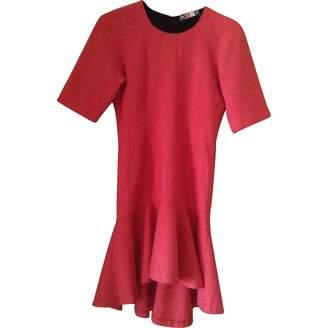 MSGM Pink Cotton - elasthane Dresses