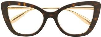 Cat Eye Tortoiseshell Cat-Eye Sunglasses