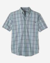 Eddie Bauer Men's Classic Fit Short-Sleeve Seersucker Shirt