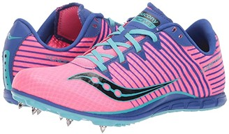 Saucony Vendetta 2 (Pink/Blue) Women's Shoes