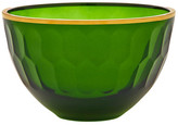 Oscar de la Renta Gallery Medium Glass Serving Bowl