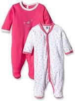 Petit Bateau Unisex Baby Bettinalot Multi-Coloured Long Sleeve Sleepsuit
