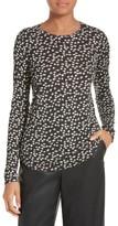 Rebecca Taylor Women's Floral Fizz Jersey Top
