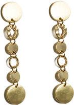 Oasis Circle Link Drop Earrings