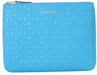 Comme des Garcons Embossed Zipped Pouch