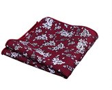 Sitong Mens suit printed pocket square cotton handkerchiefs