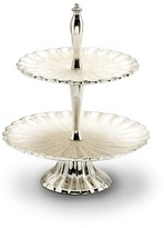 Julia Knight Peony Two-Tiered Server, 11.5""