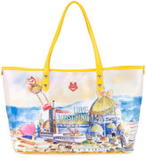 Love Moschino Florence print tote - women - Polyester/Polyurethane - One Size
