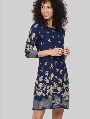 M&Co Izabel floral shift dress