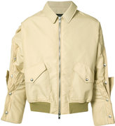 Y/Project Y / Project - stud detail bomber jacket - men - Polyamide/Acetate - L