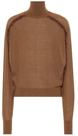 Chloé Wool turtleneck sweater