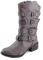 Not Rated On Fleek Women Round Toe Synthetic Mid Calf Boot.