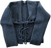 Ann Demeulemeester Anthracite Wool Knitwear for Women