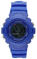 Titanium Boy's Lcd Sport Watch