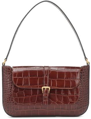 BY FAR Miranda leather shoulder bag