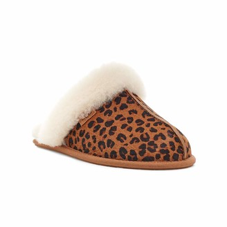 UGG Female Scuffette II Leopard Slipper