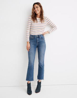 Madewell Petite Cali Demi-Boot Jeans in Fleetwood Wash