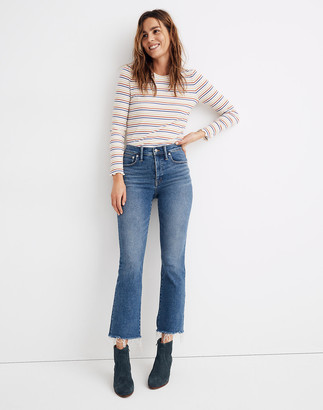 Madewell Tall Cali Demi-Boot Jeans in Fleetwood Wash