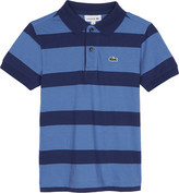 Lacoste Striped cotton polo shirt 4-16 years