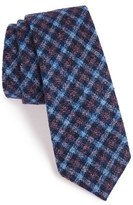 Alexander Olch Men's 'Francisco' Check Wool Tie