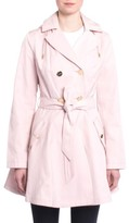 Laundry by Shelli Segal Women's Fit & Flare Trench Coat