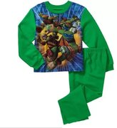 Nickelodeon Teenage Mutant Ninja Turtles 4-14 Big Boys 2pc Flannel Pajamas Set (4/5)