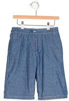 Little Marc Jacobs Boys' Chambray Chino Shorts w/ Tags
