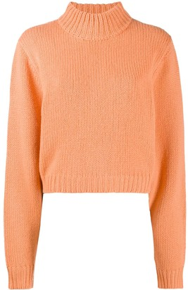 The Row Roll-Neck Cashmere Jumper