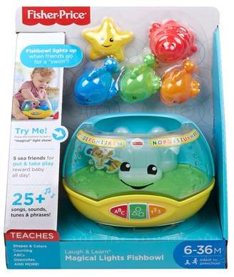 Fisher-Price Laugh & Learn® Magical Lights Fishbowl