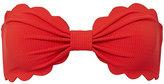 Marysia Swim Antibes Poppy Red Bandeau Bikini Top