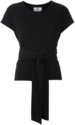 Andrea Bogosian Rondal tie-waist cotton T-shirt