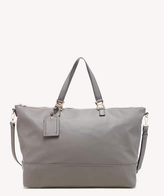 Sole Society Women's Elfie Weekender Vegan Leather In Color: Grey Bag From