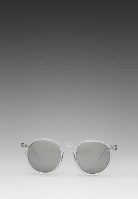 Wildfox Couture Steff Sunglasses in Crystal/Silver