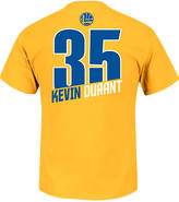 Majestic Men's Golden State Warriors NBA Kevin Durant Name and Number T-Shirt