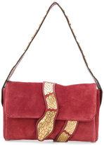 RED Valentino snake embroidered shoulder bag