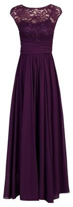 Dorothy Perkins Womens Jolie Moi Dark Purple Maxi Dress, Dark Purple