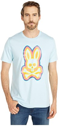 Psycho Bunny Arlington T-Shirt (Corydalis Blue) Men's Clothing