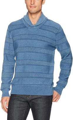 Lucky Brand Men's Indigo Shawl Sweater Medium