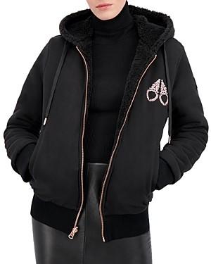 Moose Knuckles Sherbourne Hooded Fleece Jacket