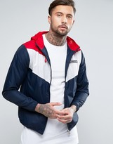Ellesse Lightweight Jacket With Panelling
