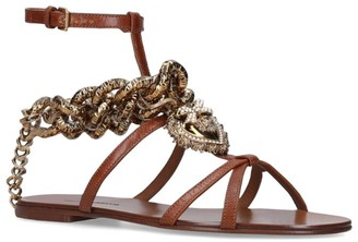 Dolce & Gabbana Devotion Chain-Detail Sandals