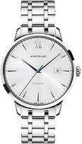 Montblanc Mont Blanc 111581 41mm Automatic Steel Bracelet & Case Anti-Reflective Sapphire Men's Watch