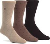 Calvin Klein Geometric 3 Pack Socks