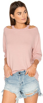 LnA Bolero Sweater in Pink