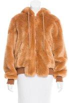 Moschino Faux Fur Teddy Bear Jacket