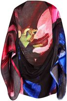 Ted Baker Issy Impressionist Bloom Silk Cape Scarf