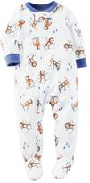Carter's Baby Boy Winter Printed Fleece Footed Pajamas