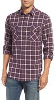 James Campbell Plaid Sport Shirt