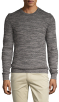 7 For All Mankind Textured Crewneck Sweater