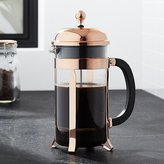 Crate & Barrel Bodum ® Chambord Copper 34 Ounce French Press